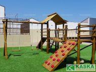 Playground de Madeira - Playground Eucalipto Tratado - Ref. 66