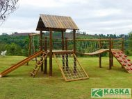 Playground de Madeira - Eucalipto Tratado - Ref. 70