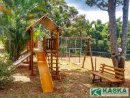 Playground em Madeira - Eucalipto Tratado - Ref. 106