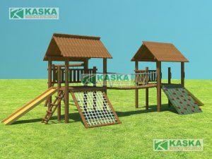 Casa do Tarzan Dupla - Cód. K-04