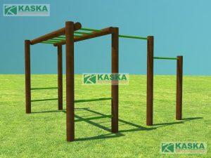 Conjunto Escada + Barra - K-19