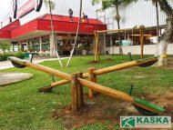 Playground de Madeira Ecológica - Ref. 110