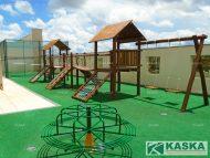 Playground de Madeira - Eucalipto Tratado - Ref. 124
