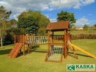 Playground Eucalipto Tratado - Parque Infantil de Madeira - Ref. 136
