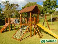 Playground Eucalipto Tratado - Parque Infantil de Madeira - Ref. 137