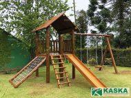 Playground de Madeira - Eucalipto Tratado - Ref. 138