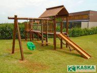 Playground de Madeira - Eucalipto Tratado - Ref. 168