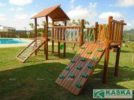 Playground de Madeira - Eucalipto Tratado - Ref. 175