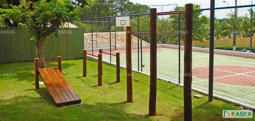 Equipamentos Fitness - Atividade Física em Madeira