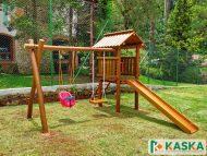 Playground Infantil de Madeira - Ref. 196