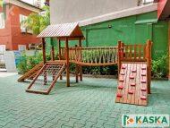Playground Infantil em Madeira - Eucalipto Tratado - Ref. 206